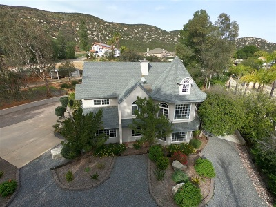 San Diego County Single Family Home For Sale: 24562 Rutherford Road