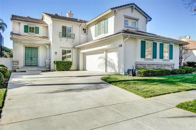 Escondido Single Family Home For Sale: 2385 Old Ranch Rd.