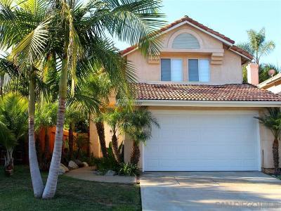 San Marcos Single Family Home Pending: 1227 Corte Bello