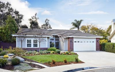 Encinitas Single Family Home For Sale: 1224 Green Orchard Pl