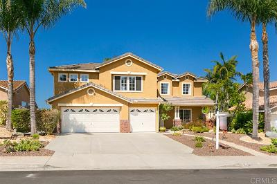 Oceanside Single Family Home For Sale: 5038 Milissi Way