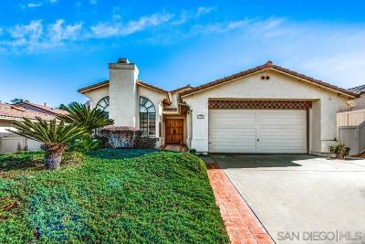 San Diego Single Family Home For Sale: 13047 Camino Ramillette