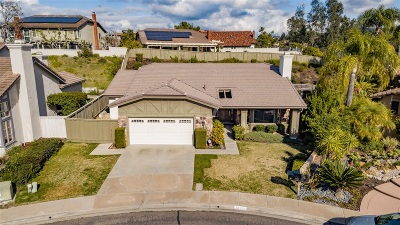 San Diego Single Family Home For Sale: 18383 Hampshire Lane