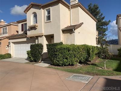 Eastlake Greens Single Family Home For Sale: 1237 Calle Tesoro