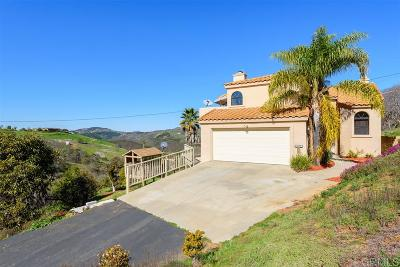 Escondido Single Family Home For Sale: 10398 Lilac Ridge Rd