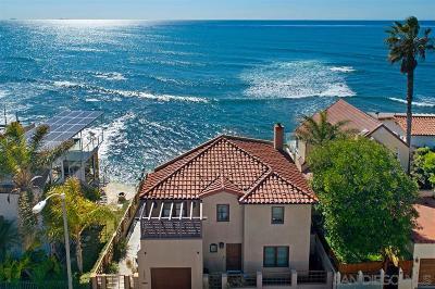 La Jolla CA Single Family Home For Sale: $3,930,000