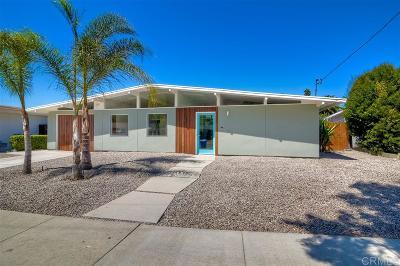 Oceanside Single Family Home For Sale: 3410 Las Vegas Dr