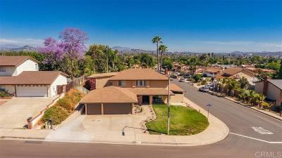 Escondido Single Family Home For Sale: 815 Sheridan Ave
