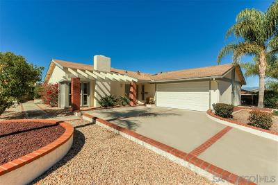 San Diego Single Family Home For Sale: 16182 Selva Dr.