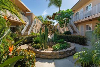 San Diego Attached For Sale: 3532 Meade Ave #14