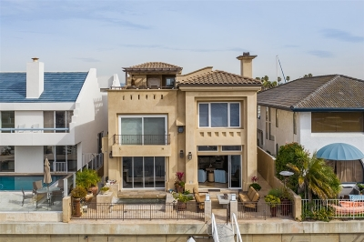Coronado CA Single Family Home For Sale: $3,150,000