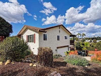 Escondido Single Family Home For Sale: 252 Vista Grande Gln