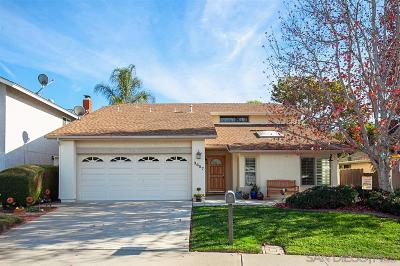 Single Family Home For Sale: 3687 Cameo Ln
