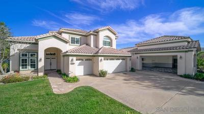 el cajon Single Family Home For Sale: 13632 Summer Glen Vista