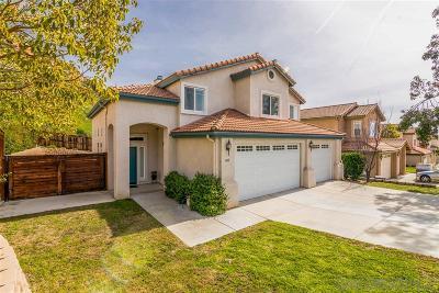 Escondido Single Family Home For Sale: 640 Dimaio Way