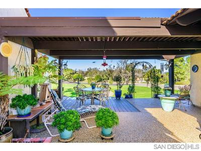 San Diego Single Family Home For Sale: 17780 Camino Ancho