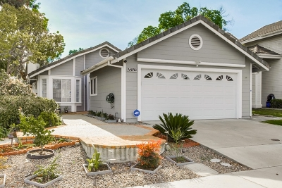 San Diego Single Family Home For Sale: 12111 Eastbourne Rd