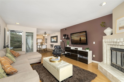 Pacific Beach, Pacific Beach Sail Bay, Pacific Beach, North Pacific Beach, Pacific Beach/Crown Point Attached For Sale: 4887 Bella Pacific Row #241