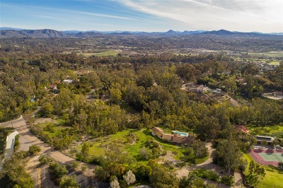 Rancho Santa Fe Single Family Home For Sale: 15715 La Madreselva