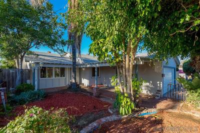 Single Family Home For Sale: 3811 Cagle St
