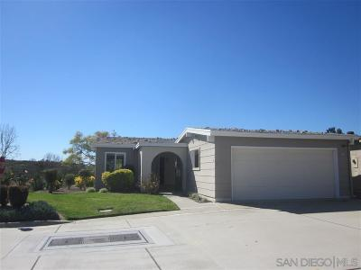 Oceanside Single Family Home For Sale: 3749 Rosemary Way