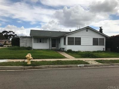Clairemont Single Family Home For Sale: 4695 Fargo Ave