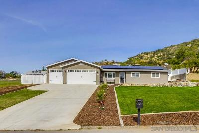 Single Family Home For Sale: 14452 Twin Peaks