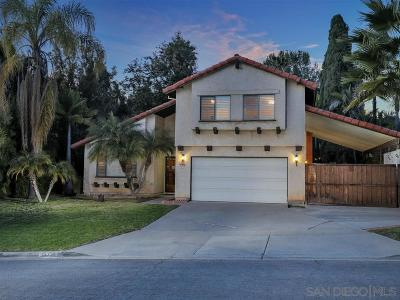 Single Family Home For Sale: 14350 Vista Hills Dr
