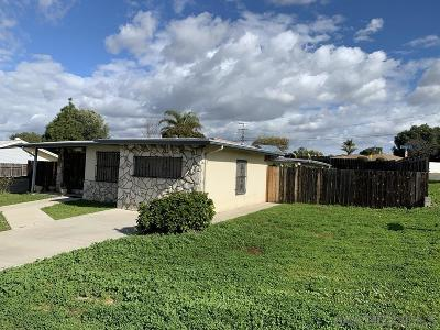 San Diego Single Family Home For Sale: 3703 College