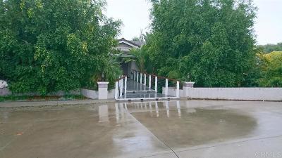 Fallbrook Single Family Home For Sale: 3272 Alta Vista Dr