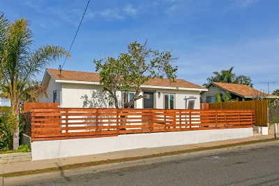 Oceanside Single Family Home For Sale: 1332 Lemon St.