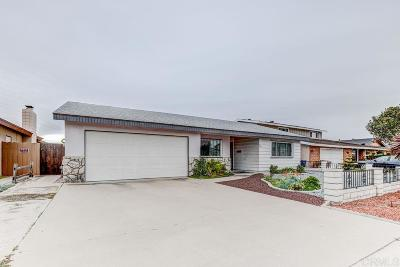 Chula Vista Single Family Home For Sale: 449 Westby Street