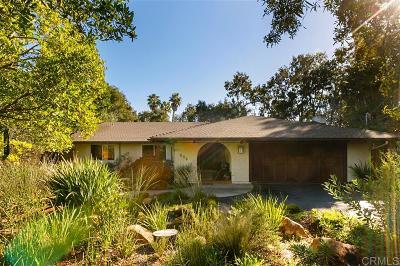 Leucadia CA Single Family Home For Sale: $1,299,000