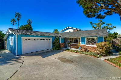 Carlsbad Single Family Home For Sale: 4115 Highland Dr