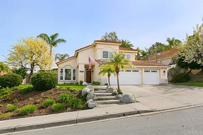 Oceanside Single Family Home For Sale: 1232 Masterpiece Dr