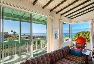 La Jolla CA Single Family Home For Sale: $1,750,000