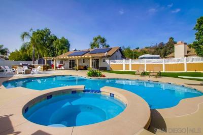 Escondido Single Family Home For Sale: 911 Jacaranda Pl