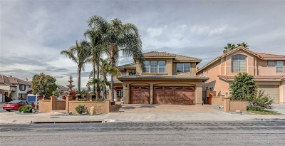 Chula Vista Single Family Home For Sale: 598 Padrone Pl