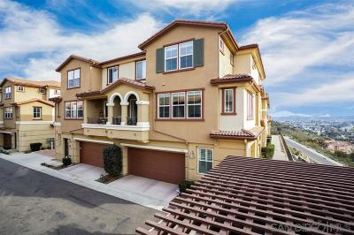 San Diego County Townhouse For Sale: 1213 Calabria St