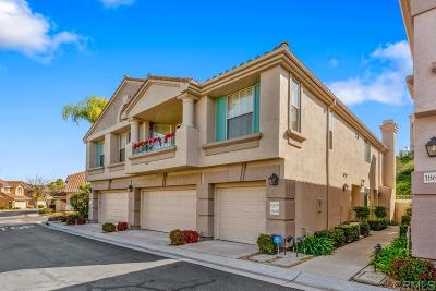 Rancho Bernardo, San Diego Townhouse For Sale: 18688 Caminito Pasadero
