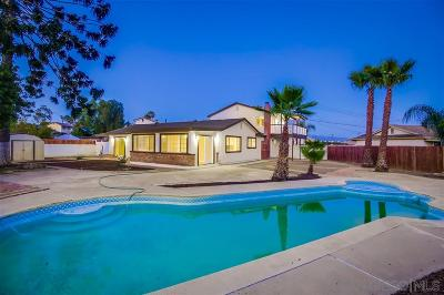 San Diego County Single Family Home For Sale: 447 Berland Way