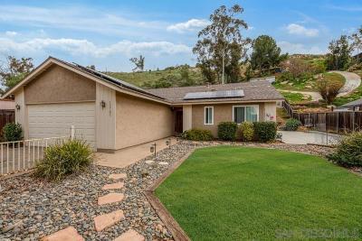Single Family Home For Sale: 12703 Casa Vista Rd