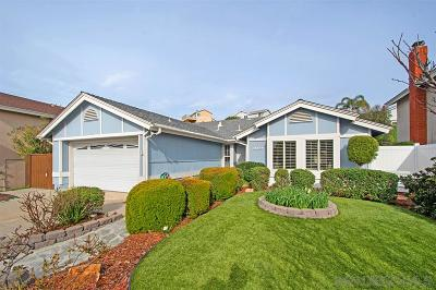 San Diego Single Family Home For Sale: 13881 Bassmore