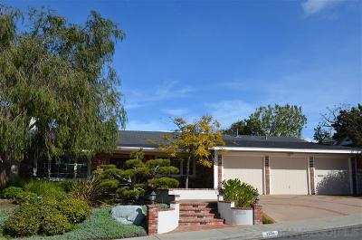 La Jolla CA Single Family Home For Sale: $1,749,000