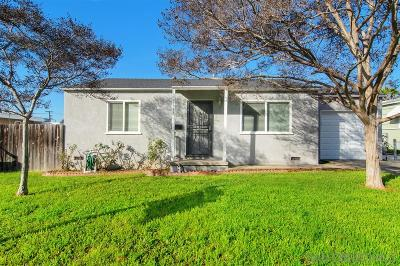 San Diego Single Family Home For Sale: 5244 Spruce St