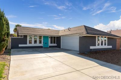 San Diego Single Family Home For Sale: 8781 Gold Coast Dr.