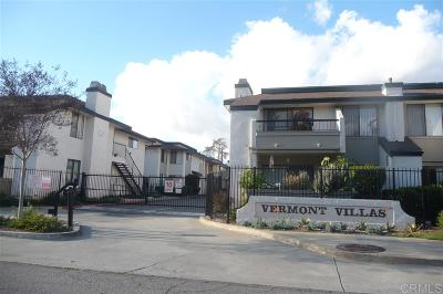 Escondido Attached For Sale: 450 W Vermont Ave #1102