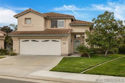 Oceanside Single Family Home For Sale: 640 Mosaic Cir