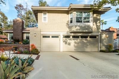 San Diego Single Family Home For Sale: 10525 Quail Springs Ct.
