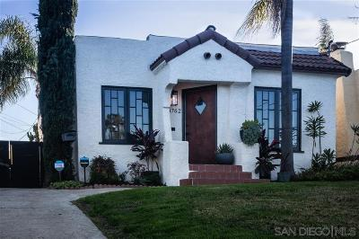 San Diego Single Family Home For Sale: 4762 E Mountain View Dr
